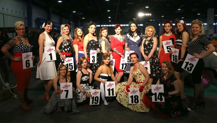 foto a pinup szépségversenyről