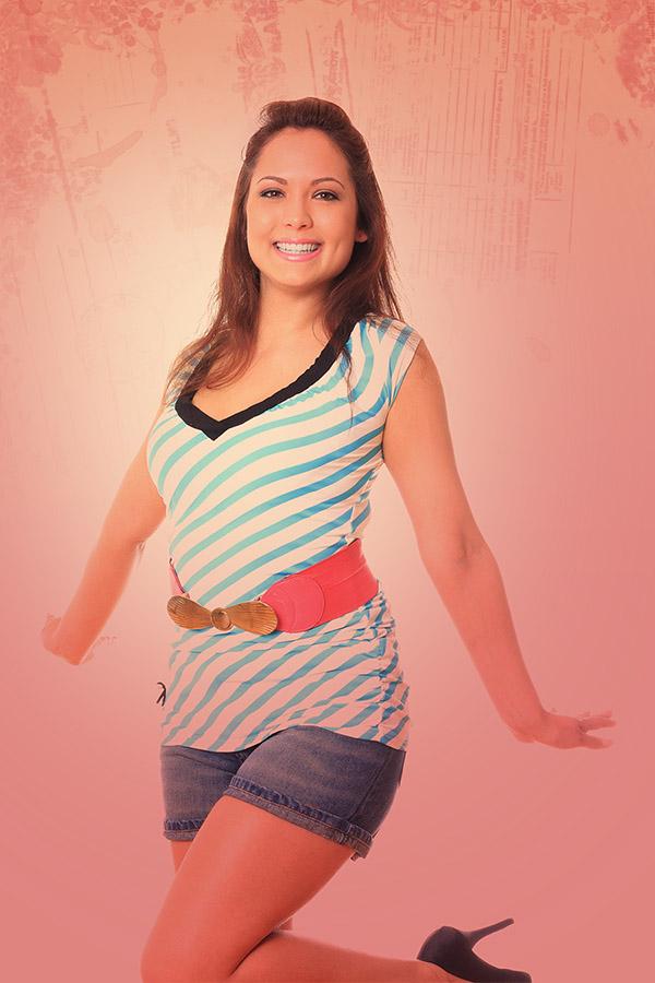 Csilla PinUp girl 4