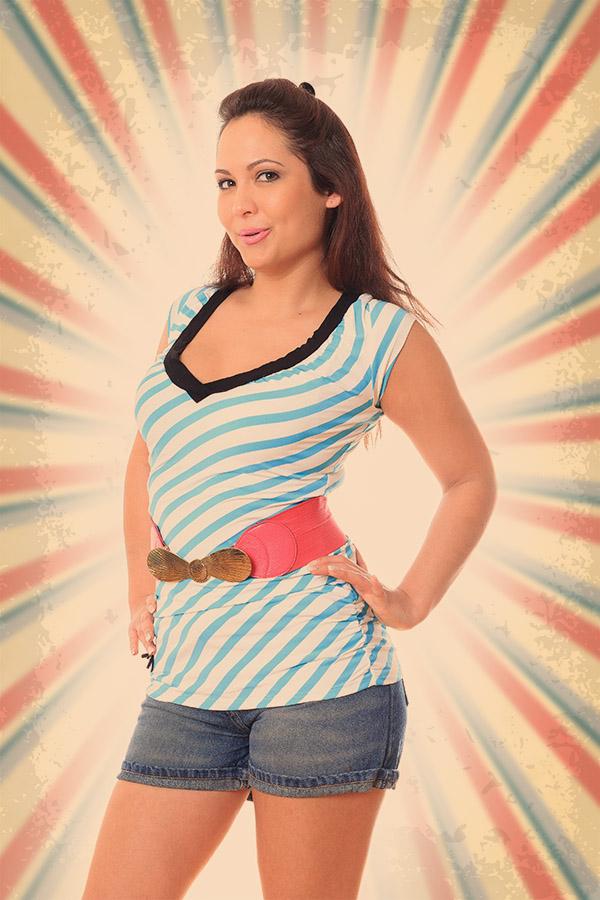 Csilla PinUp girl 3