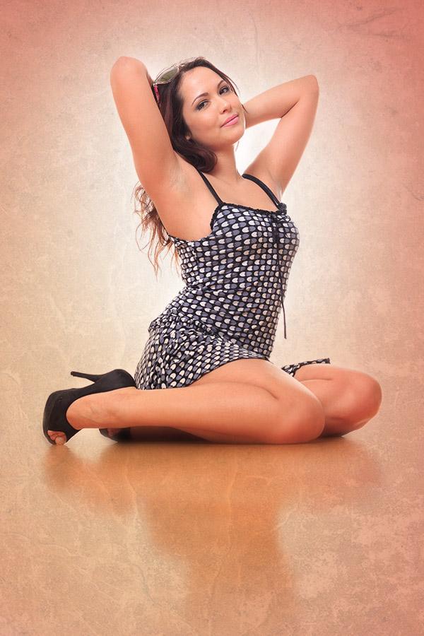 Csilla PinUp girl 2