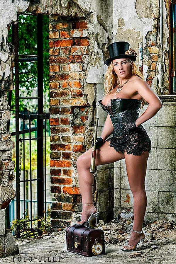 Annamária Miss Pin Up Hungary 2018 post picture 1